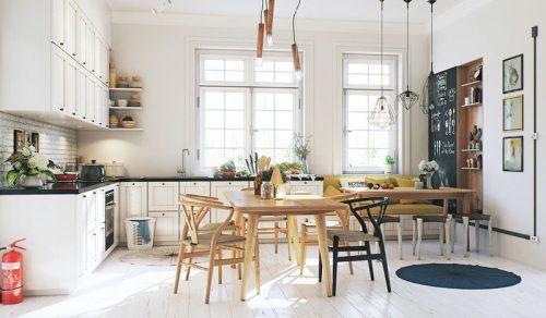 Ý tưởng thiết kế phòng bếp cho chung cư nhà bạn