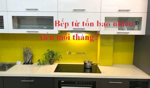 Sử dụng bếp từ đôi có tốn điện hay không ?