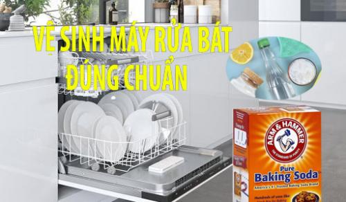Vệ sinh máy rửa bát ,cách xử lý khi máy rửa bát có mùi hôi