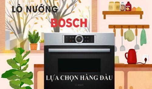 Đánh giá lò nướng Bosch thương hiệu đến từ Đức