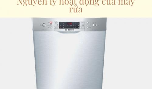 Nguyên lý hoạt động của máy rửa bát hộ gia đình