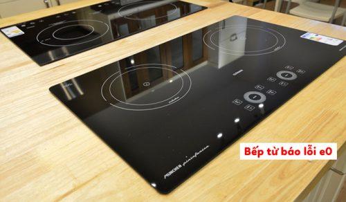 Cách khắc phục những lỗi mã E trên bếp từ Bosch