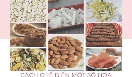 Những món đồ ăn giảm cân cho ngày lễ tết và cách chế biến một số hoa quả sấy bằng lò nướng