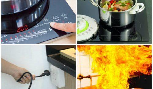 Tham khảo những chế độ bảo vệ an toàn của bếp từ