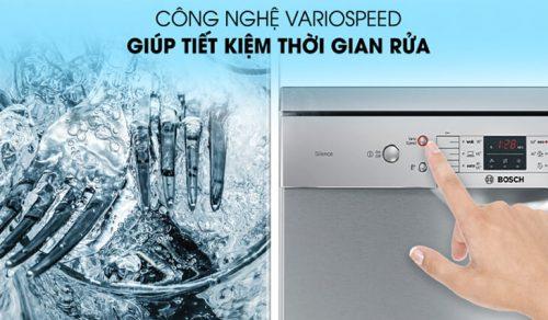 Những công nghệ tiên tiến nhất của máy rửa bát Bosch
